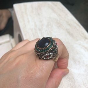Vintage Turkish handmade ring